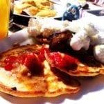 Foie Gras Pancakes from Monterey San Antonio Texas