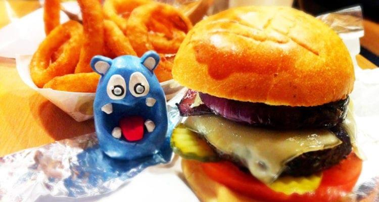 Now & Zen Burger from Black & Orange