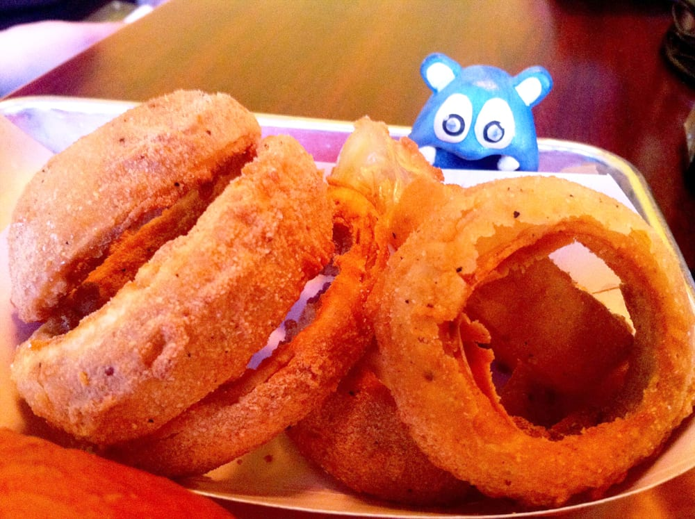 Onion Rings from Burger Tap & Shake