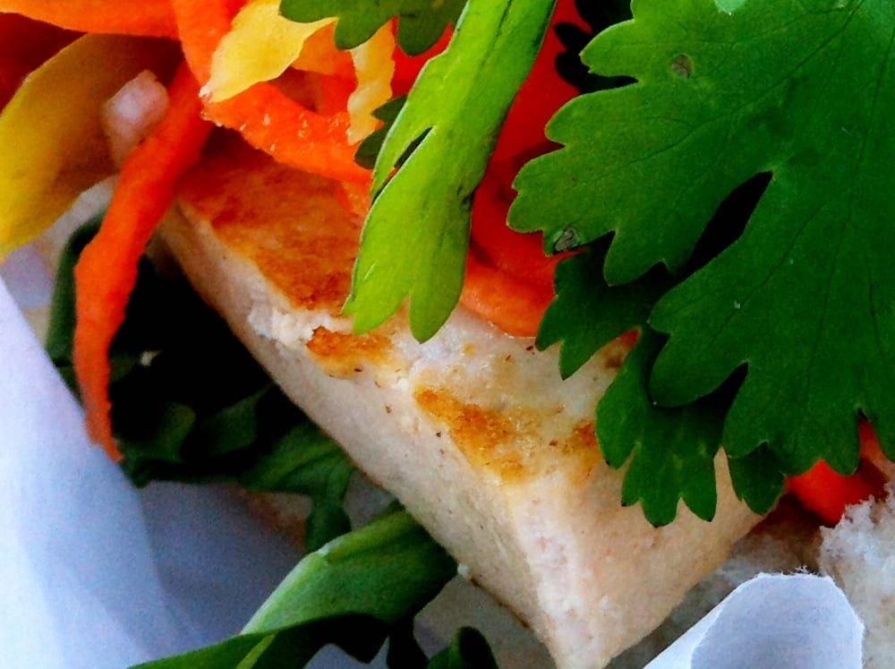 Pan Con Tofu Sandwich from El Floridano Truck