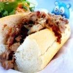 Pan con Lechon Sandwich from El Floridano Truck