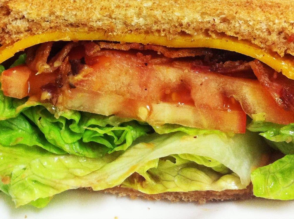 Peanut Butter BLT Sandwich from Mark's Kitchen