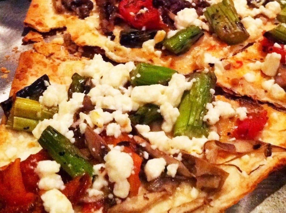 Roasted Vegetable Flatbread from BlackFinn