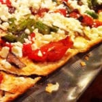 Roasted Vegetable Flatbread from BlackFinn