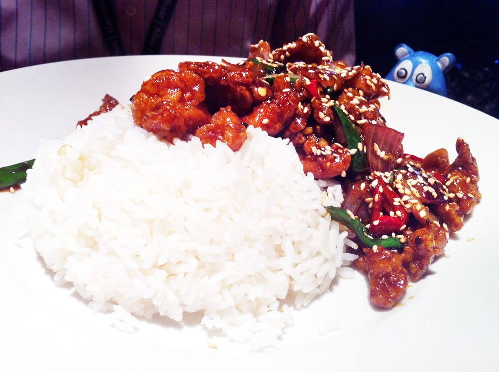 Sesame Chicken from Big Bowl