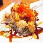 Shrimp Mountain Roll from Ikko