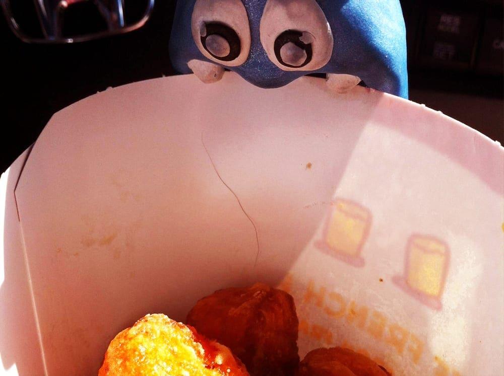 Sweet Potatoe Tots from Sonic