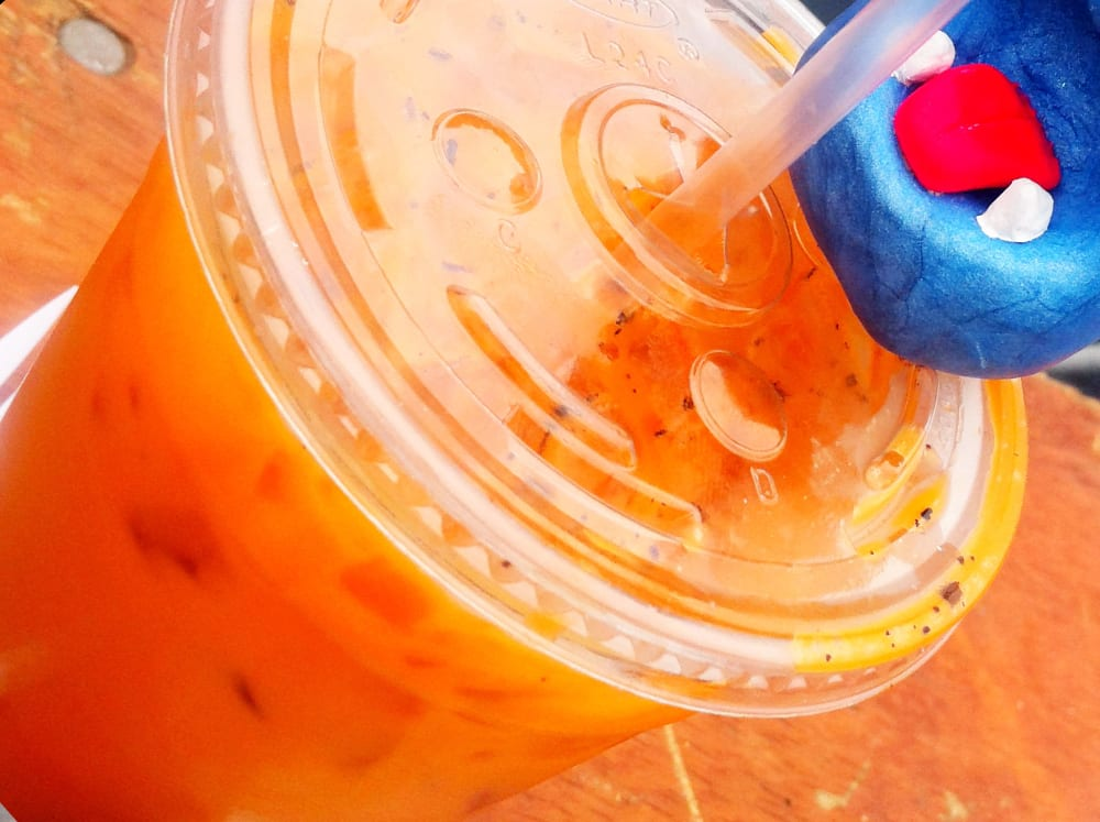 Thai Ice Tea from Sang on Wheels