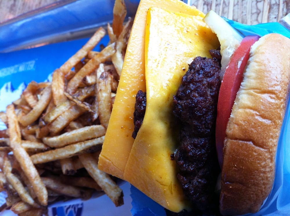 The Elevation Burger from Elevation Burgers