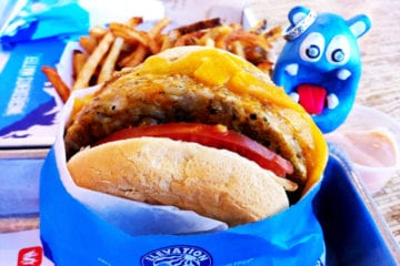 Veggie Burger from Elevation Burger