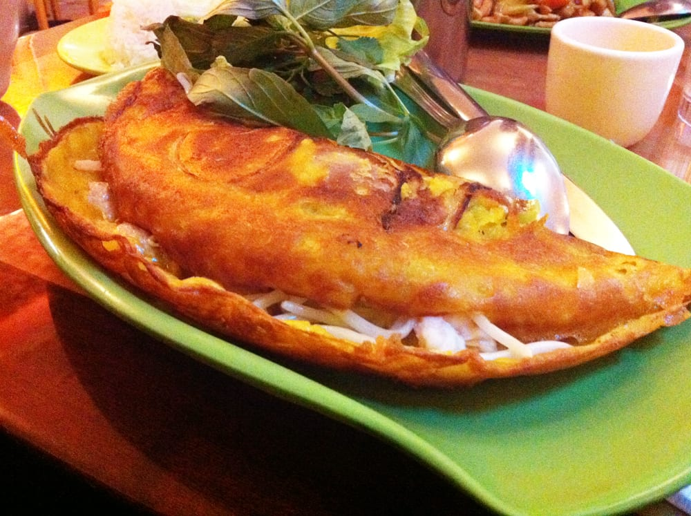 Vietnamese Crepe from Lotus Cafe
