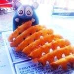 Waffle Fries from Brass Balls Saloon Ocean City