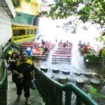 Waterfall Buffet at Villa Escudero Philippines