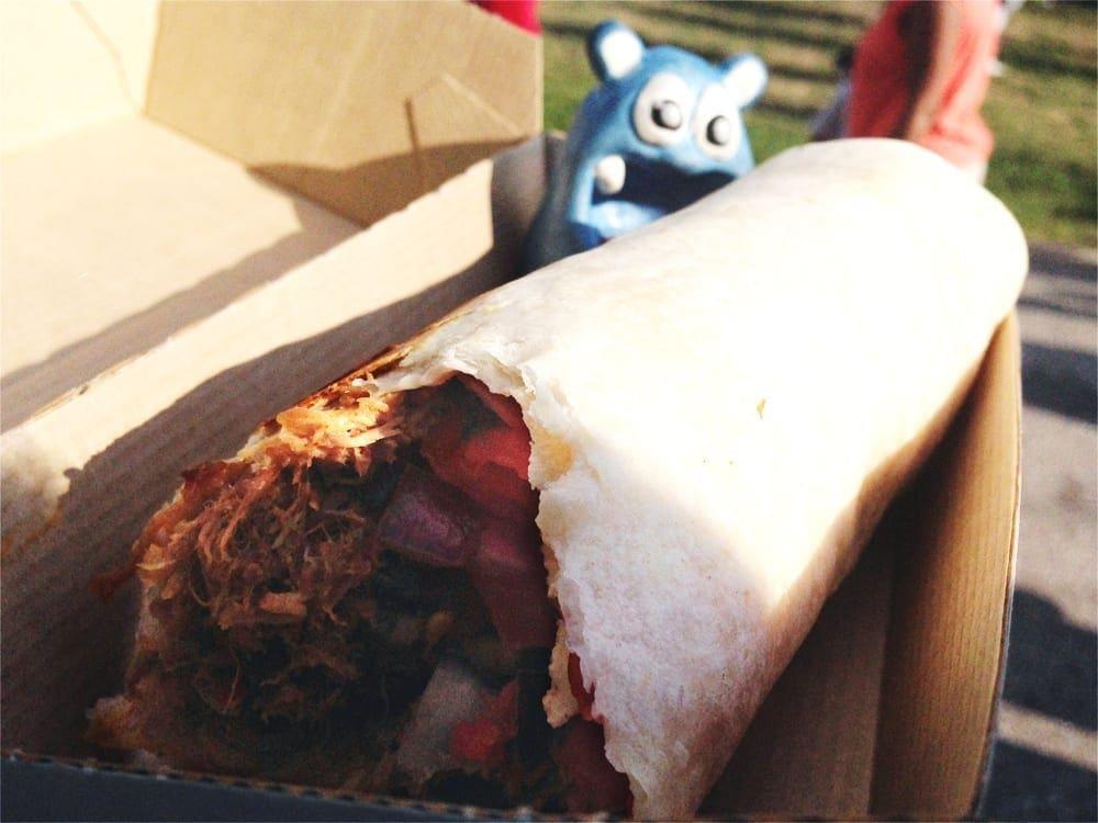 Rib Rito Burrito from Rito Loco Truck Baltimore