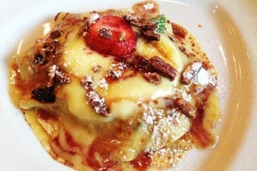 Crepes Brulee from McGinty's