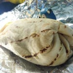 BLT Grilled Chicken Burrito @ Well Dressed Burrito