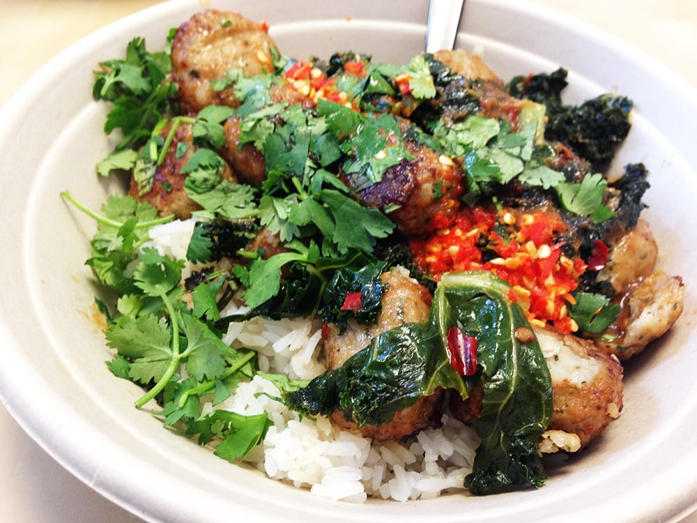 Meatballs Rice Bowl @ ShopHouse