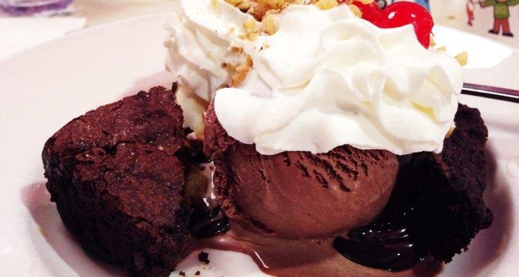 Brownie Decadence Dessert @ Silver Diner