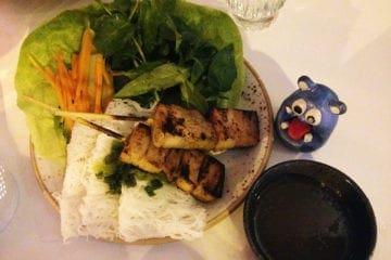 Grilled Pork Belly @ Doi Moi DC