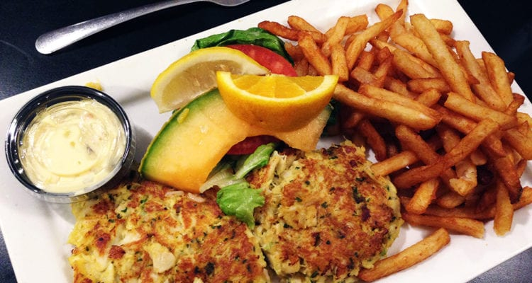 Maryland Crabcake Dinner @ Parkway Deli