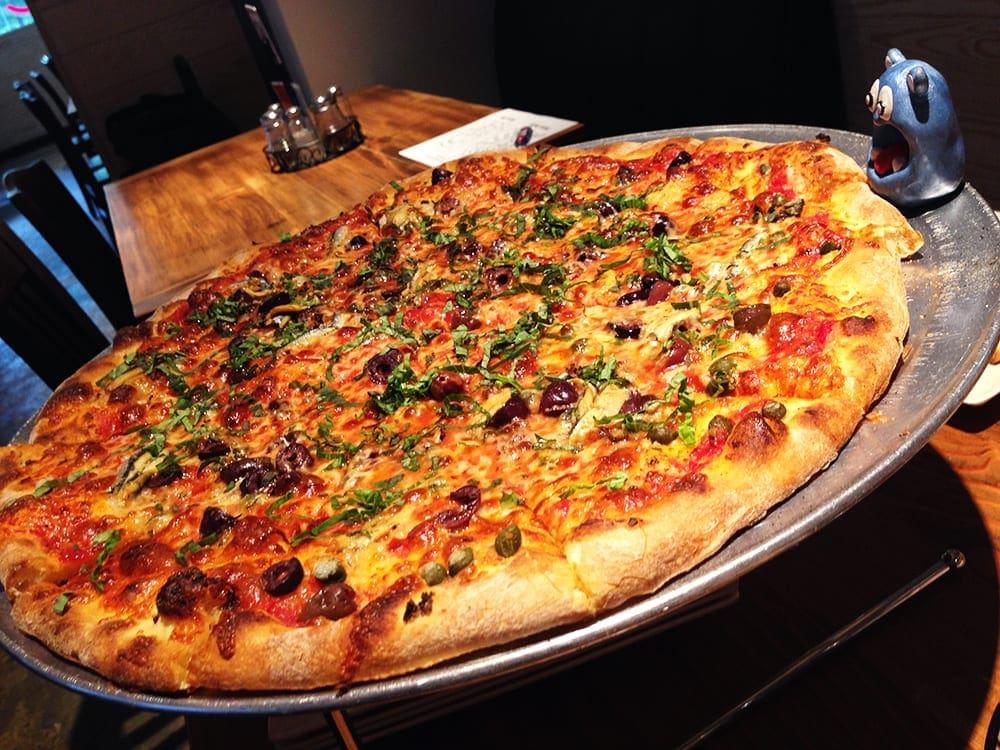 Napoletana Pizza $26 @ Pete's New Haven Silver Spring