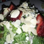 Strawberry Toasted Almonds Salad @ Ruth's Chris Bethesda