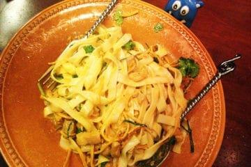 House Special Noodles @ Mingalaba San Francisco