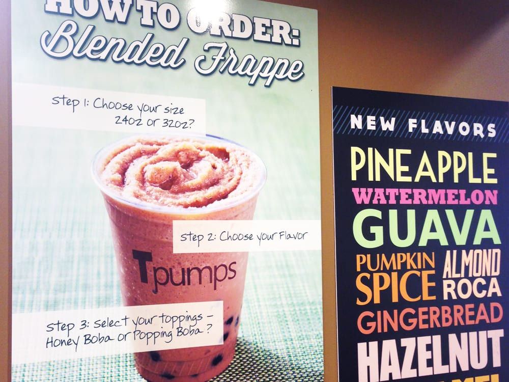 Tpumps Bubble Tea Shop