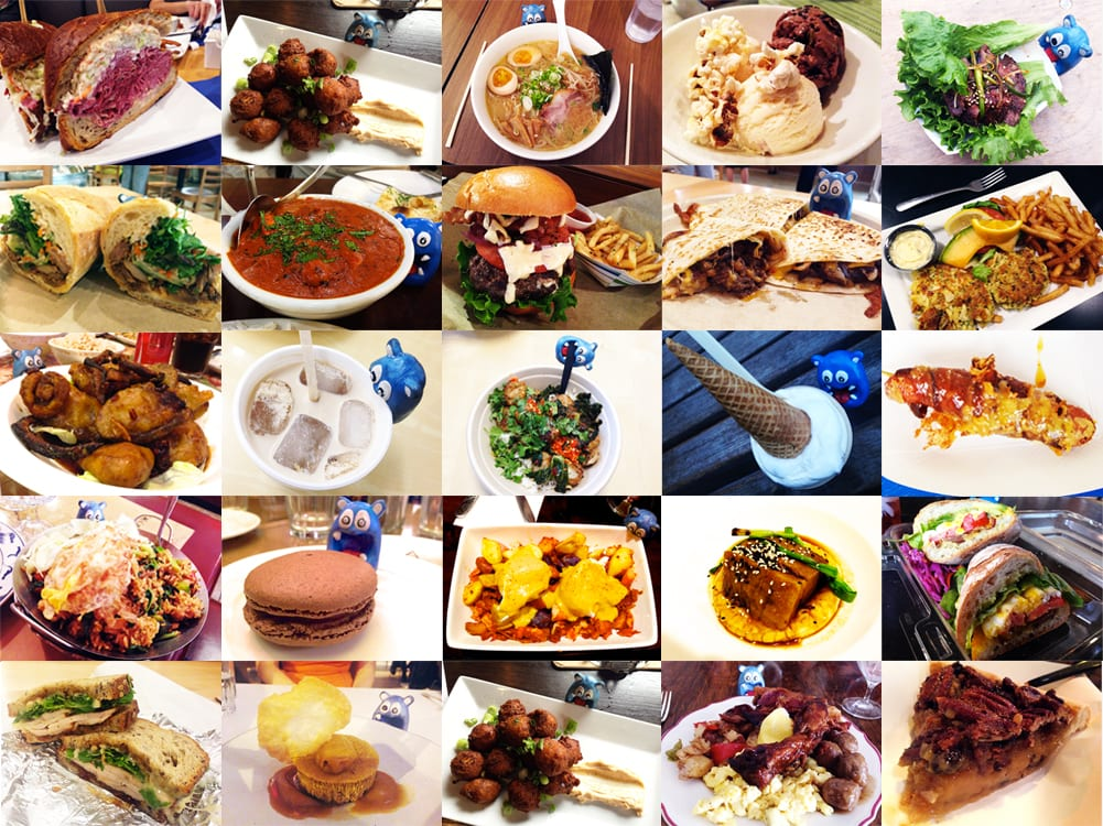 Top NOMs of 2014 Best Dishes, Food Destinations and Blogs
