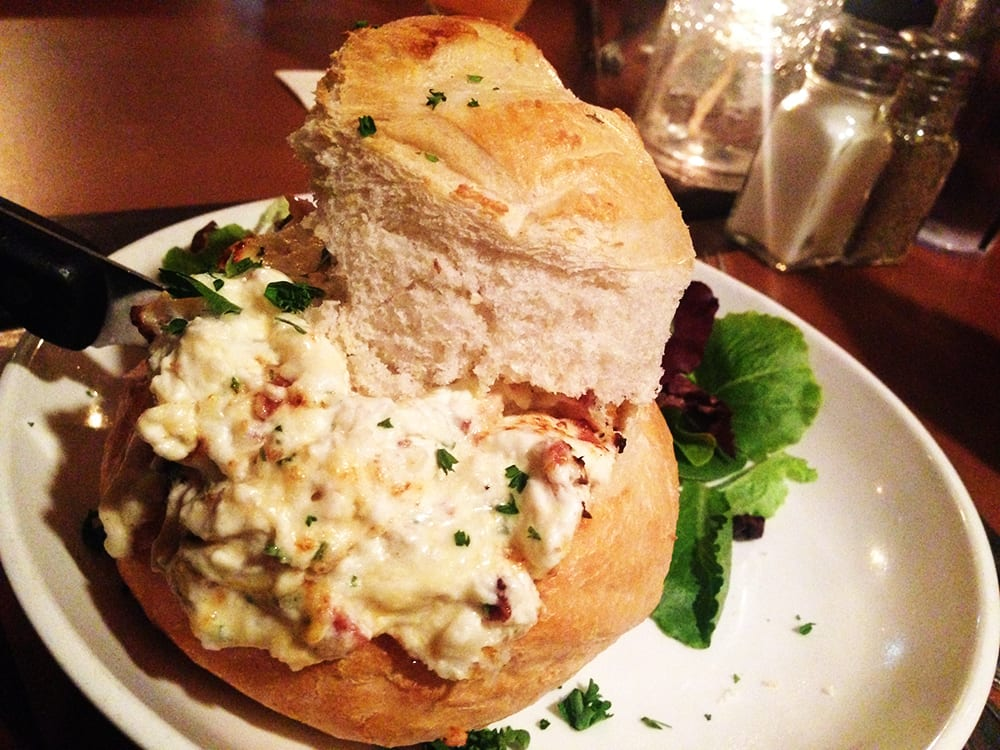 Applewood Bacon Crab Dip $12 @ Pig & FIsh Rehoboth | Nom ...