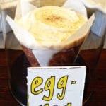Egg Nog Cupcake @ Baked & Wired Georgetown DC