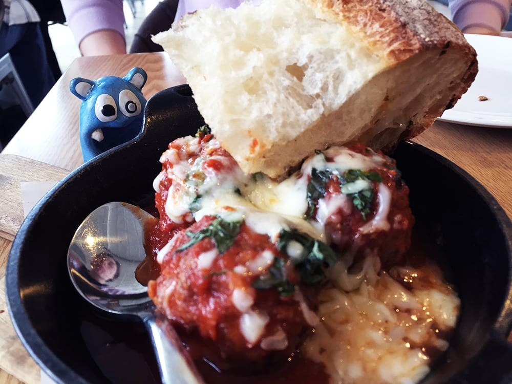 Braised Meatballs $12 for Brunch @ Urban Butcher Silver Spring