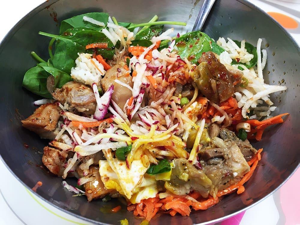 Beau Chicken Super Bibimbap $10 @ Soul Food Wheaton