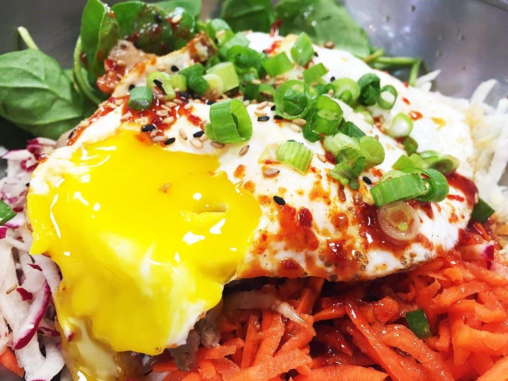 Chicken Super Bibimbap $10 @ Soul Food Wheaton