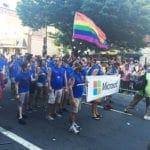 Microsoft Float at Capital Gay Pride 2015