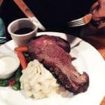 Oak Smoked Prime Rib Steak $32 @ Harris Ranch Selma California