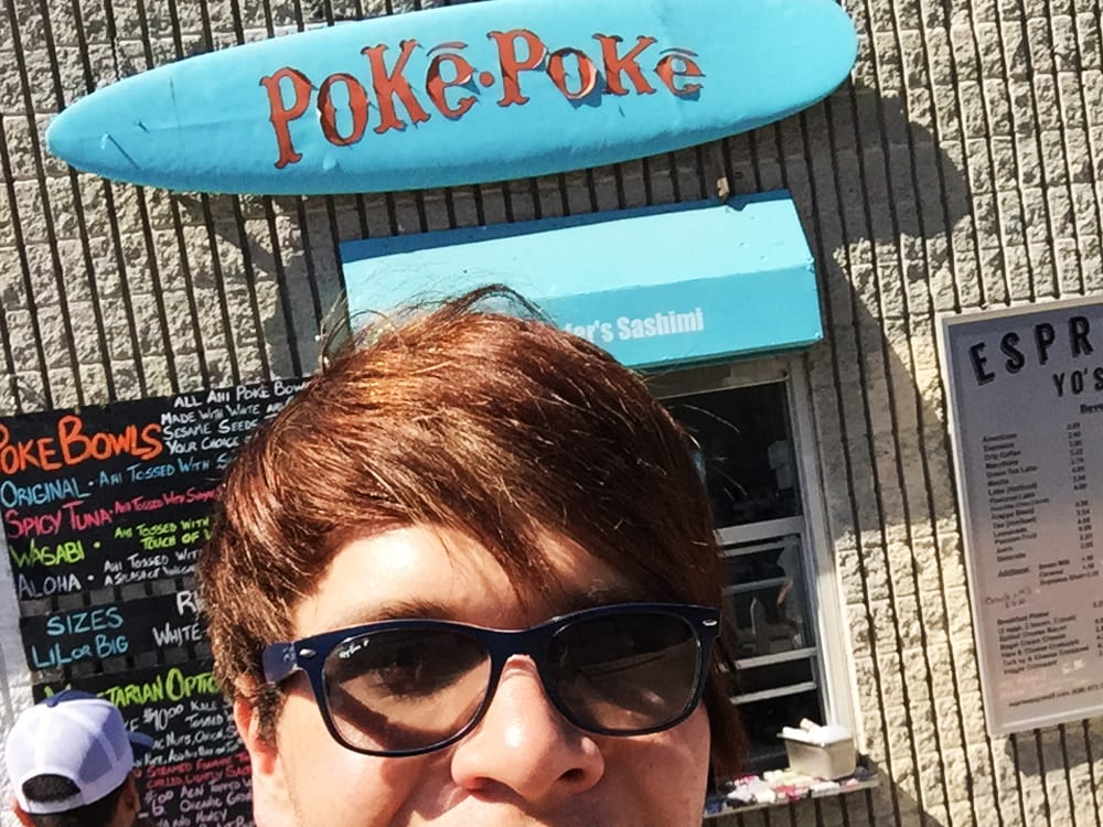 Poke Poke Venice Beach California