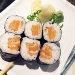 Salmon Sushi Roll $6 @ Cho Oishi Los Angeles California