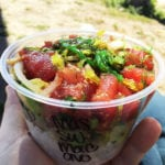 Spicy Tuna Poke Bowl @ Poke Poke Venice Beach California