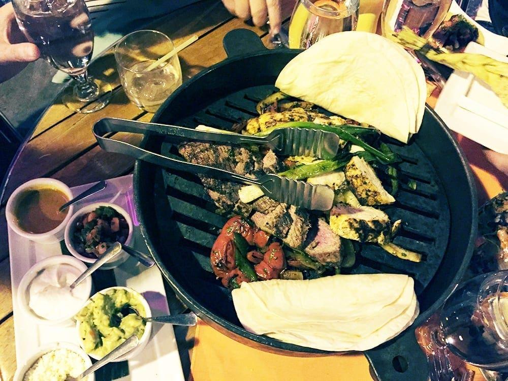 Tacos Al Carbon Adobo Chicken & Beef $39 @ El Vez Philadelphia