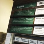 Seasonal Menu at SweetGreen in Silver Spring