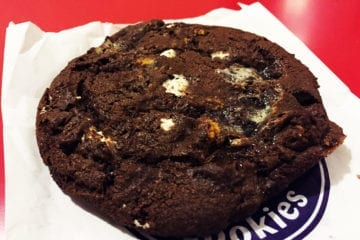 S'mores Deluxe Cookie @ Insomnia Cookies in Philadelphia