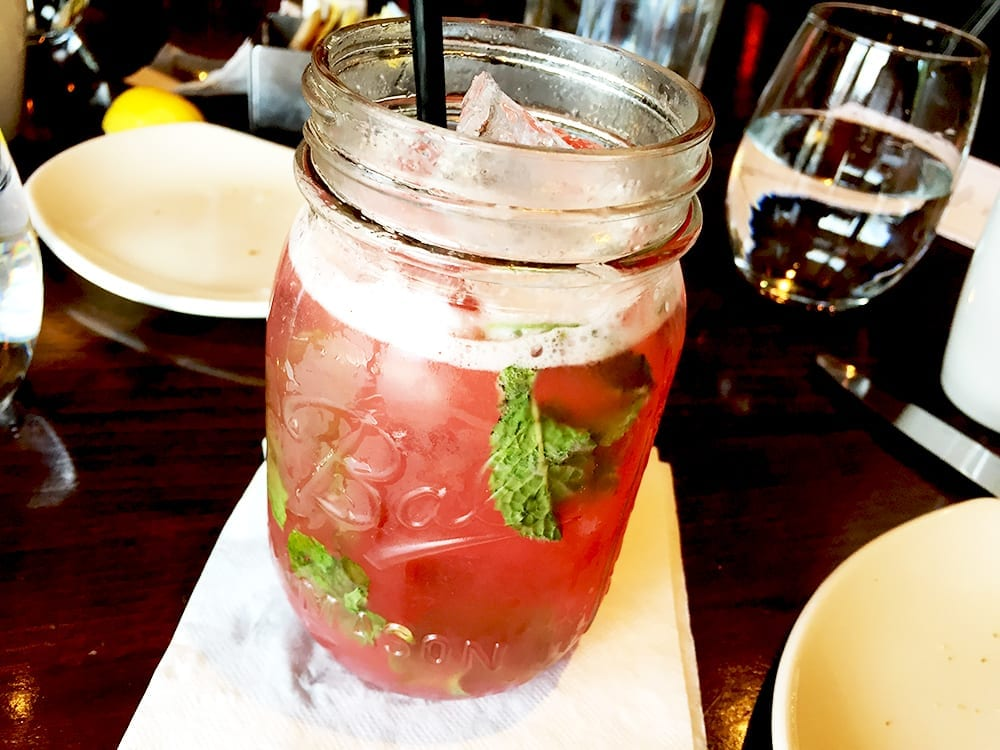 Mason Dixon Mojito $12 @ 8407 Kitchen at Down Town Silver Spring, Maryland