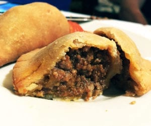 Spiced Beef Empanadas $7 @ Barcelona Wine Bar in Reston Virginia