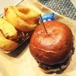 Southern Comfort Burger @ Burger Tap & Shake in Tenleytown Washington DC