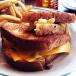 Super Deluxe Grilled Cheese @ Ted's Bulletin in Reston Town Center Virginia