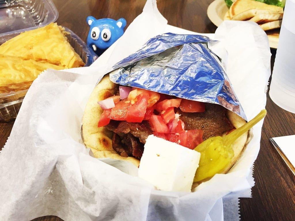 Gyro from Big Greek Cafe at Taste of Fenton