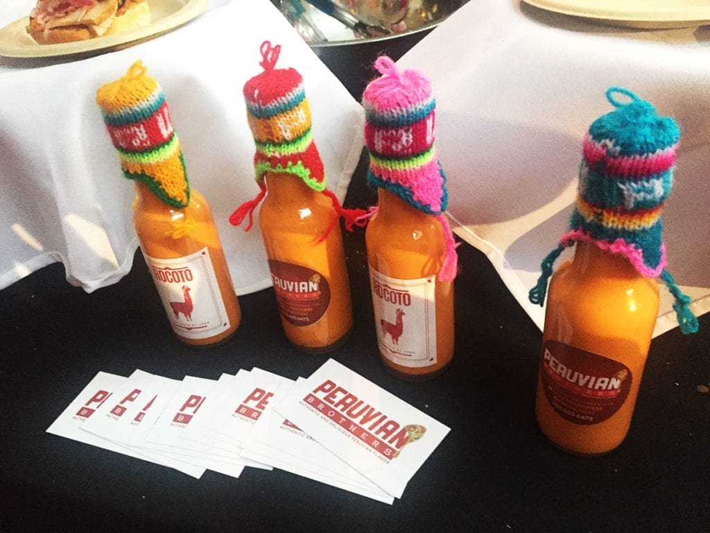 Spicy Sauce @ Peruvian Brothers at Best of Washington 2016