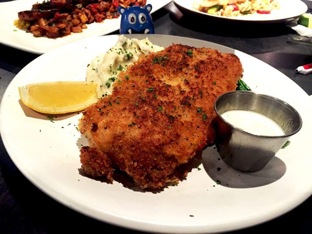 Mustard Crusted Chicken @ Not Your Average Joe's