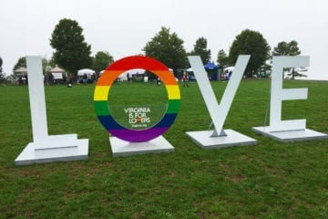 Virginia is For Lovers at NOVA Gay Pride